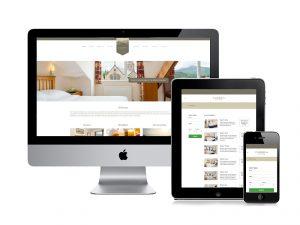 Cumbria House Web design