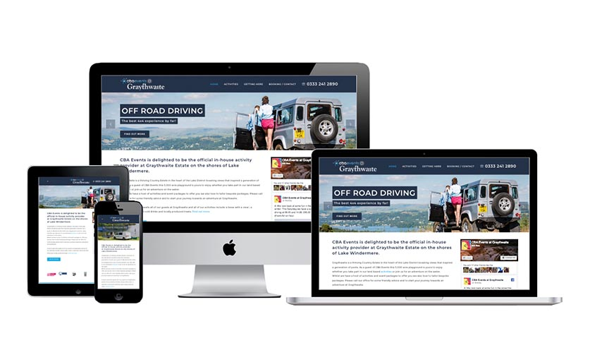 Graythwaite Web Design Cumbria