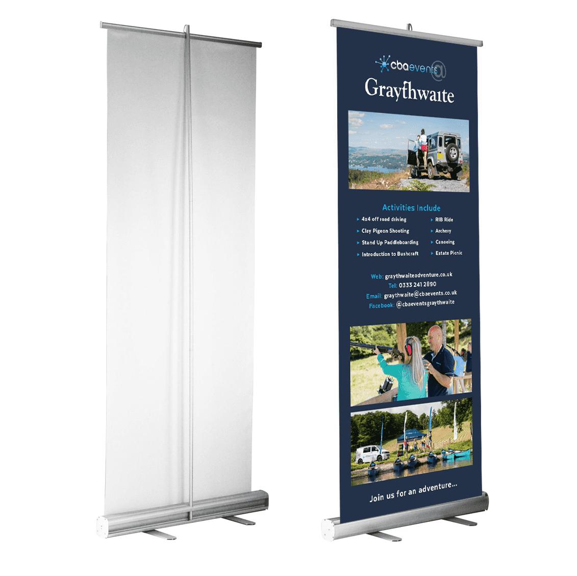 Roller Banner Design Cumbria