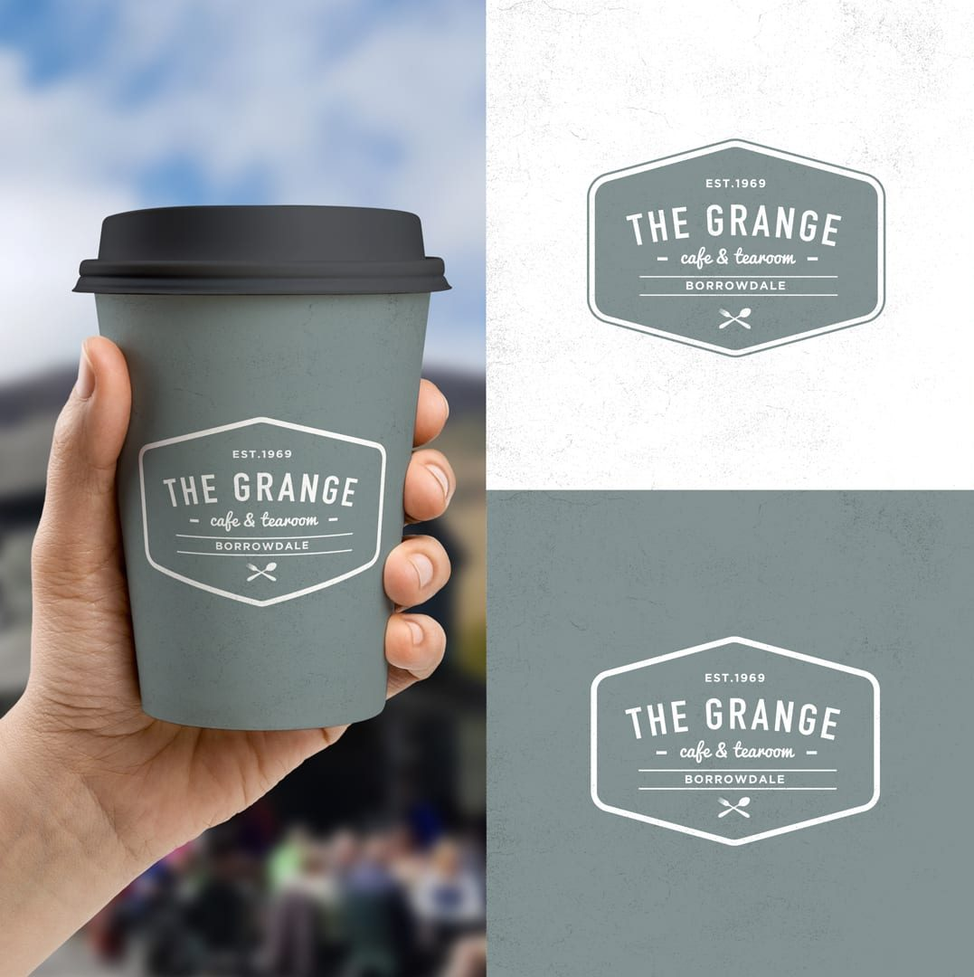 Grange Cafe logo, Cumbria